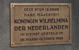 Plaquette Stuw Linne Heemkring Heel