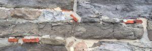 Romeinse dakpannen kerk Heel
