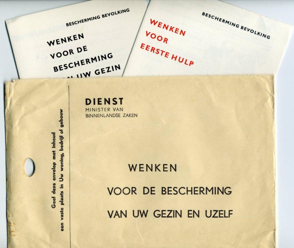 Brochure overheid atoomdreiging