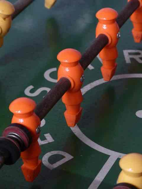 Kleurensensaties voetbal oranje
