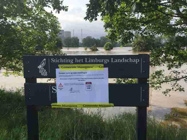 Waarschuwing overstromingsgevaar